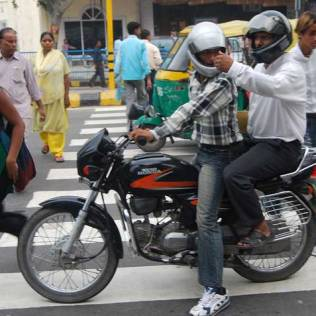 Respect traffic rules