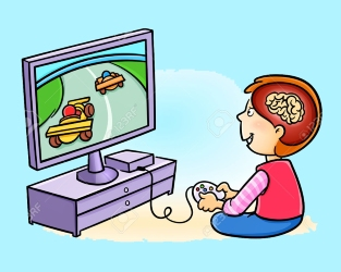 39370285-Boy-addicted-to-playing-video-games-Excessive-video-game-playing-in-kids-may-harm-the-brain--Stock-Vector