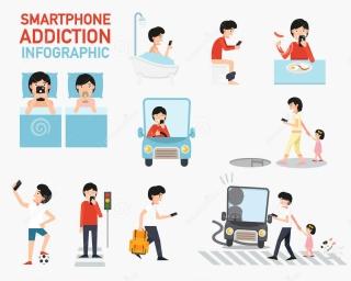 smartphone-addiction-infographic-vector-illustration-73893456
